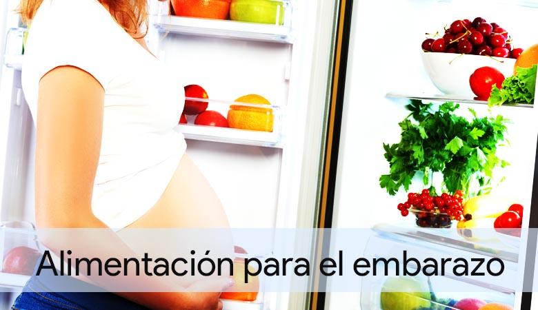 Los alimentos para quedarte embarazada