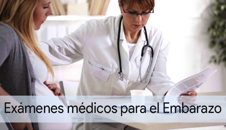 exámenes médicos a mujeres embarazadas
